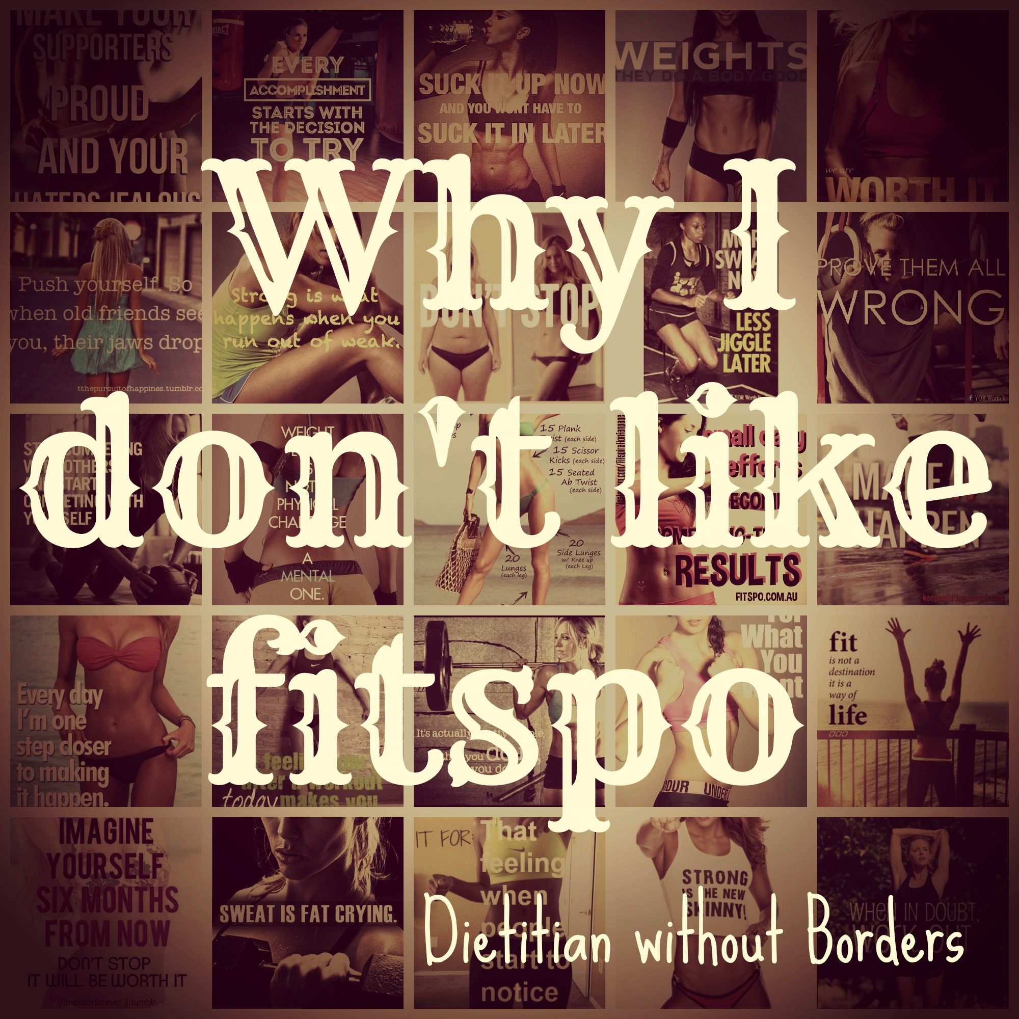 Why I Dont Like Fitspo Or Fitspiration Motivation Gemma Sampson
